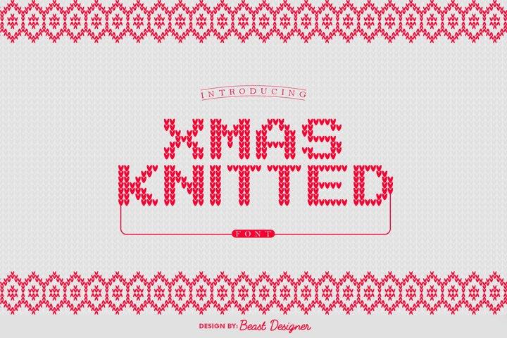 Xmas Knitted | Christmas Santa Ugly Sweater
