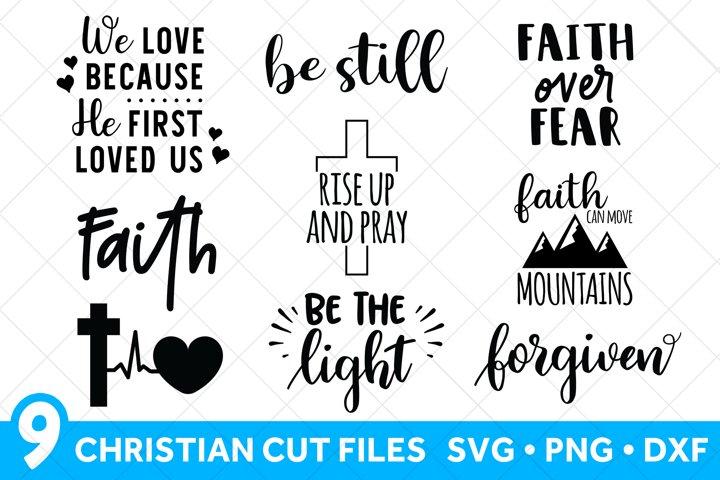 Christian SVG for Cricut Bundle, Religious SVG, Cross SVG