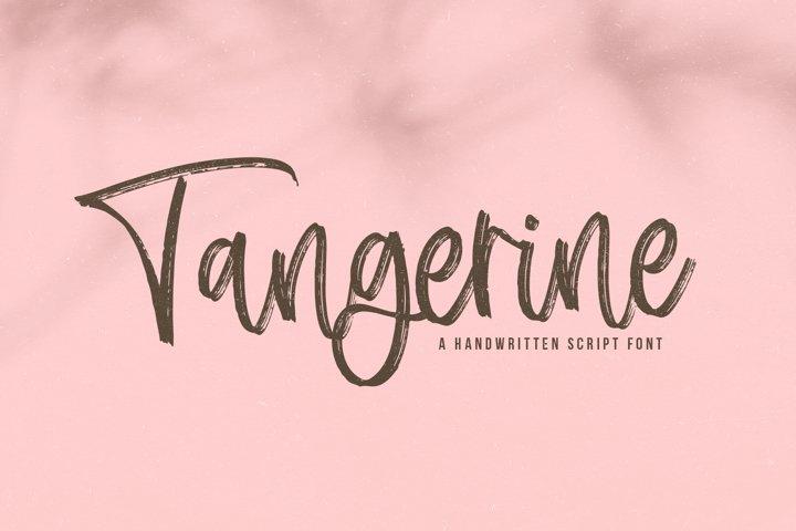 Tangerine - A Handwritten Script Font