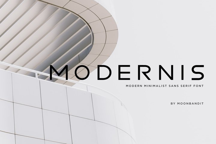Modernis - Modern Minimalist Font