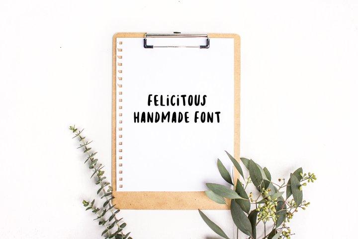 Felicitous Font