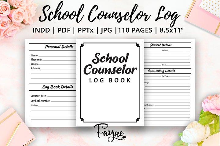 School Counselor Log Book | KDP Template