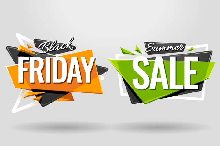 SALE BANNERS   Material Design - Free Design of The Week Design3