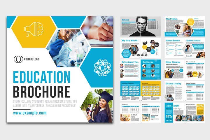 Education Brochure Layout
