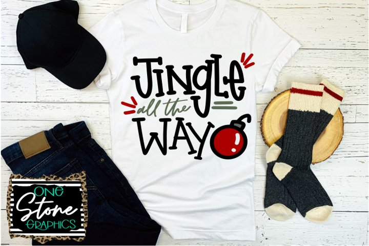 Jingle all the way, Christmas, Jingle all the way svg