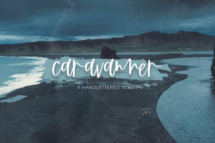 Caravanner Script Font