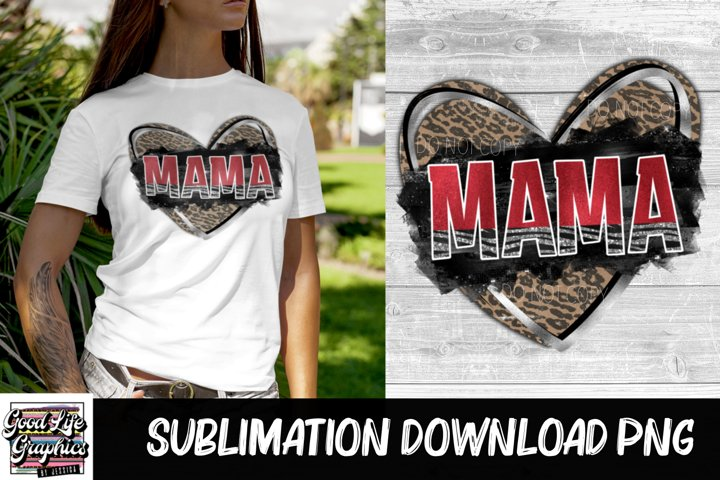 Sublimation Designs for t shirts-Valentines Mama-PNG