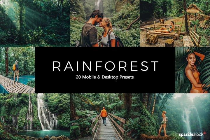 20 Rainforest Lightroom Presets & LUTs