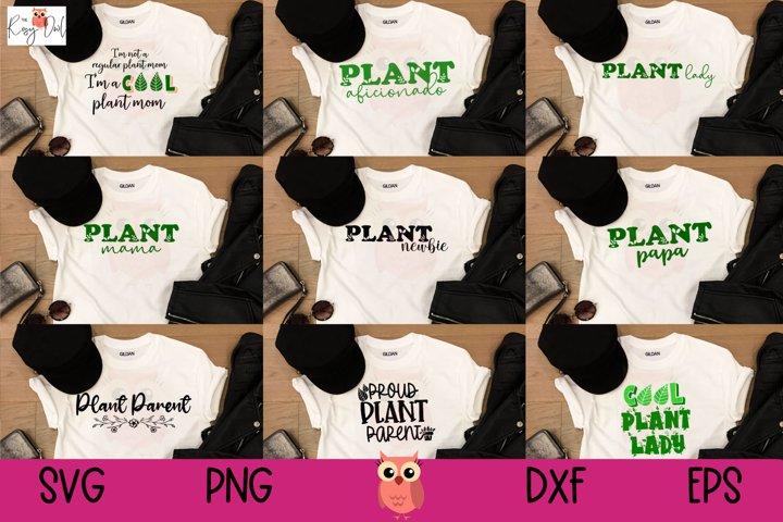 Plant Lover SVG Bundle