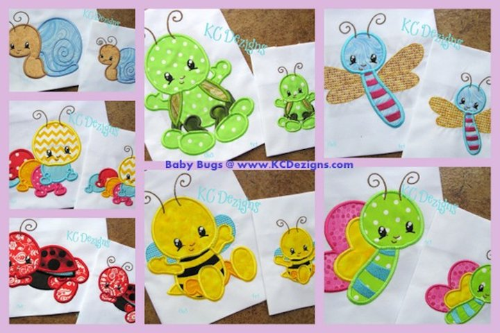 Baby Bugs Full set