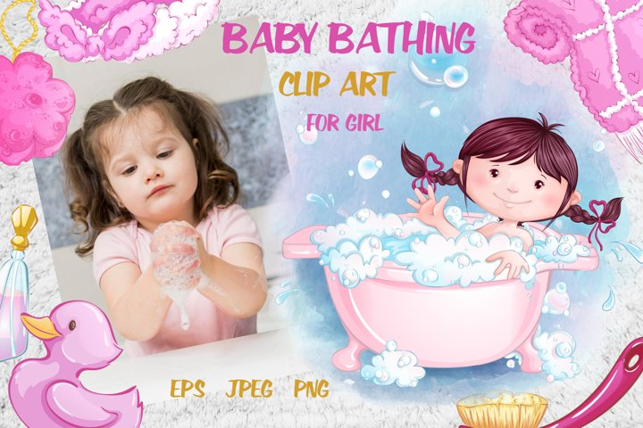 Baby bathing /for girls/