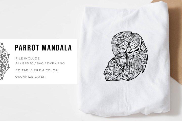Parrot   Mandala
