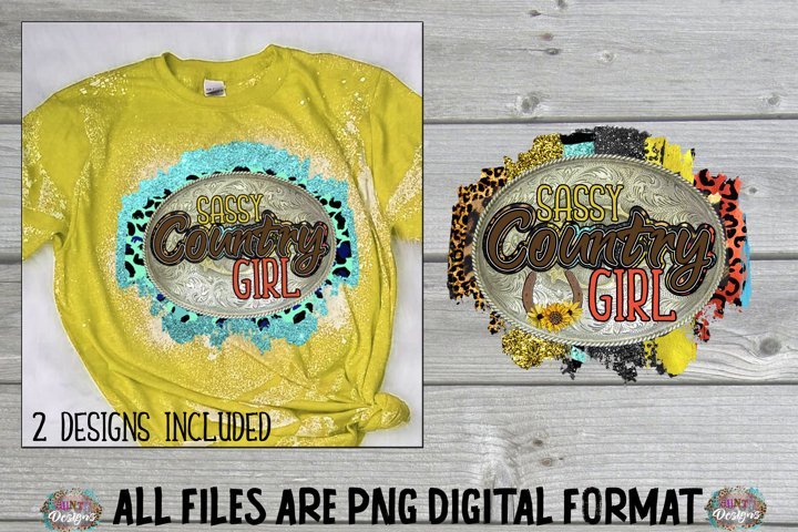 Sassy Country Girl Sublimation Design Clip Art