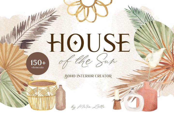 House of the Sun boho creator