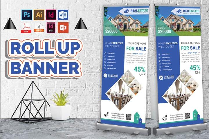 Real Estate Roll Up Banner Vol-03
