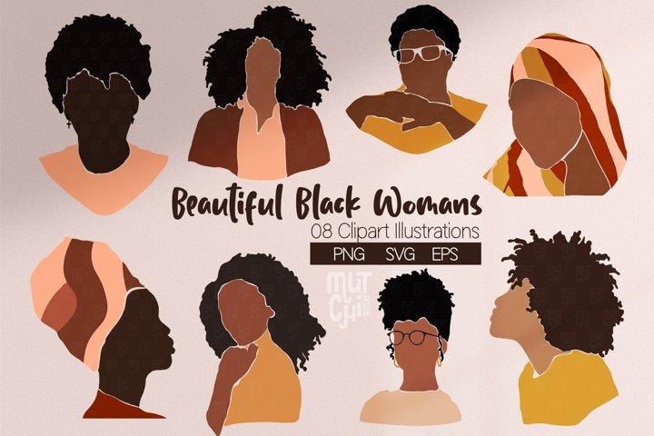 Beautiful Black Woman Graphics