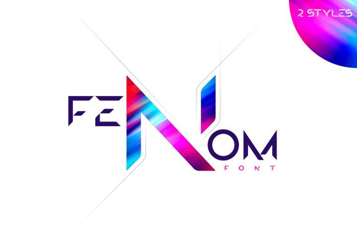 FENOM font