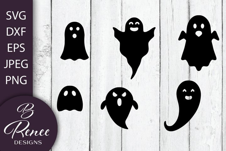 Halloween Bundle Including 6 Ghosts