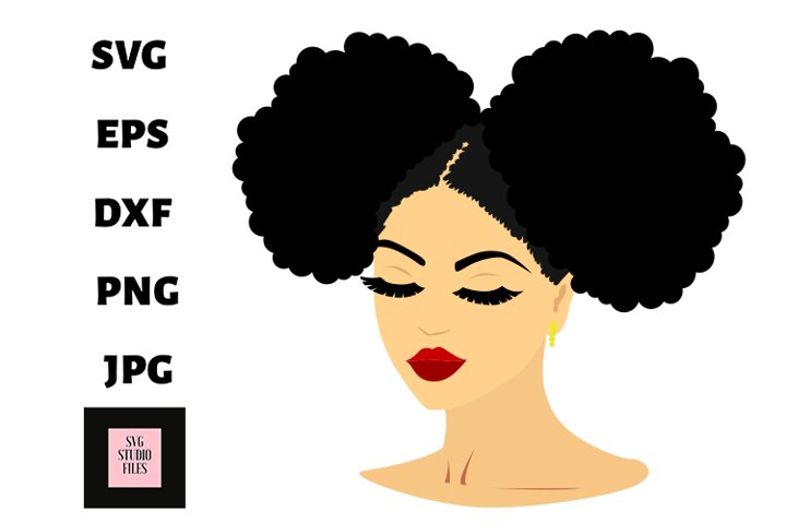 black woman svg , svg files for cricut, clip art file
