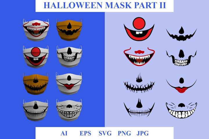 Mask Halloween Part II