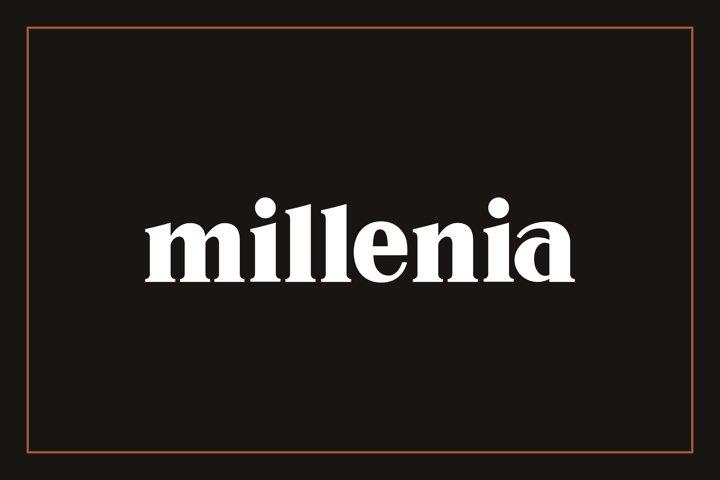 Millenia - Serif Font - Free Font of The Week Font