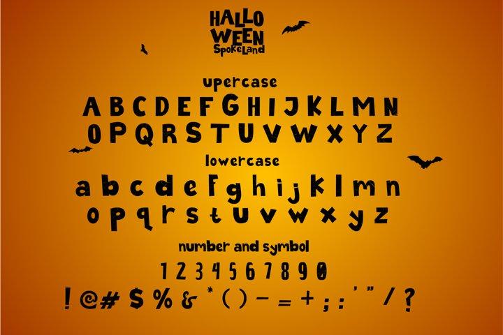 Halloween Spokeland Cartoon Font - Free Font Of The Week Design4