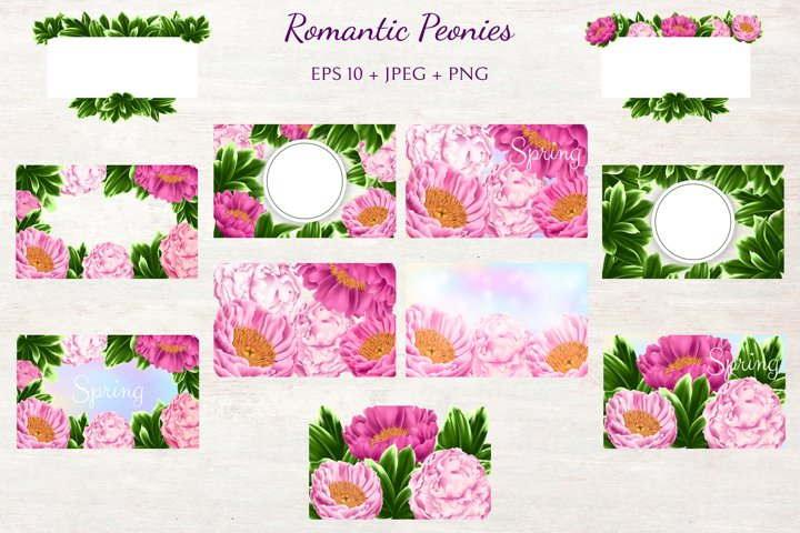 Romantic Peonies example 2