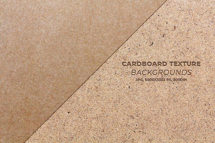 Cardboard texture backgrounds