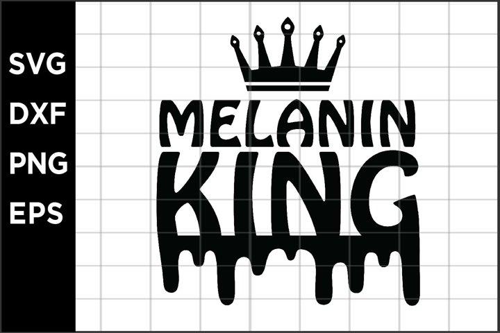 Melanin King SVG