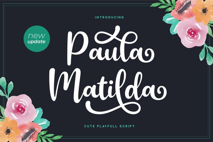 Paula Matilda Font - New Update!