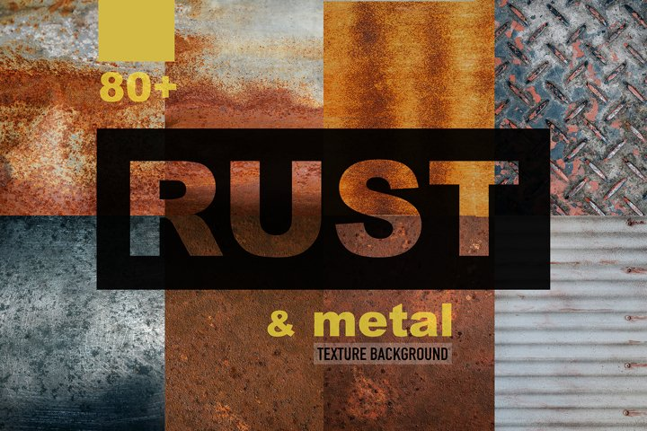 80+ Rust & Metal texture background