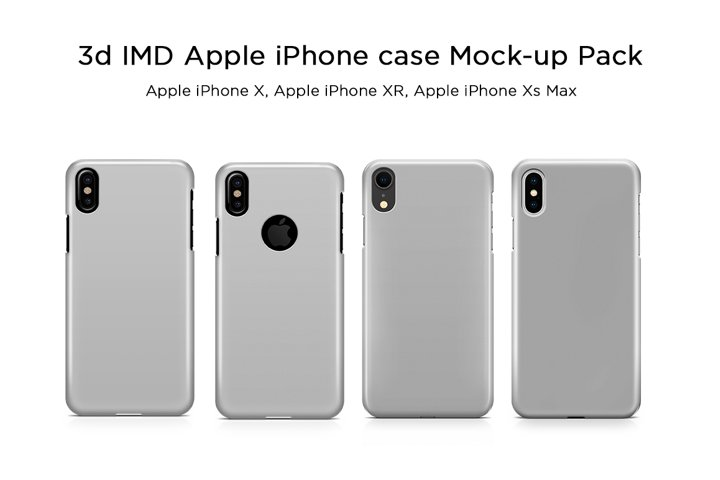 Apple iPhone Case Mock-ups Pack