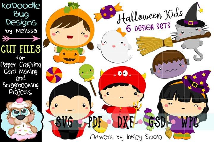 Halloween Kids Bundle - 6 Cutting Files