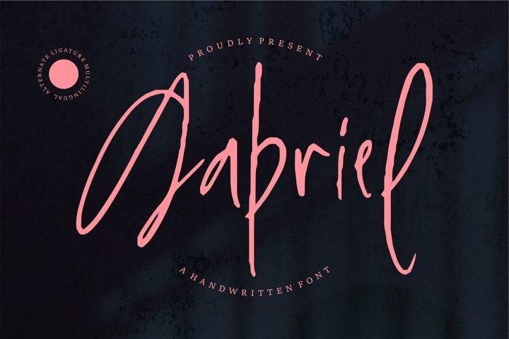 Gabriel - Handwritten Font