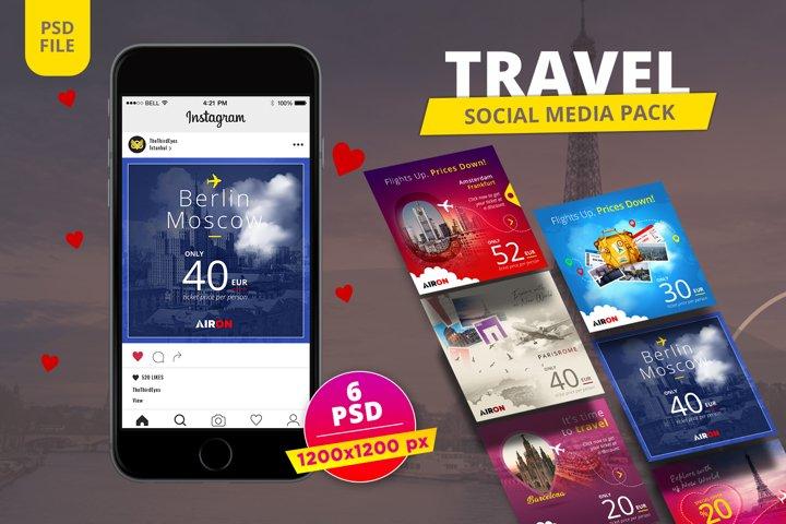 Travel Instagram Pack