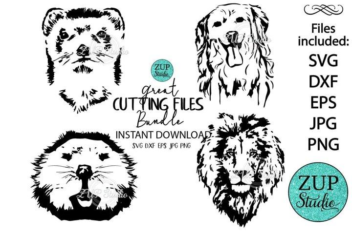 Animals Face design 533
