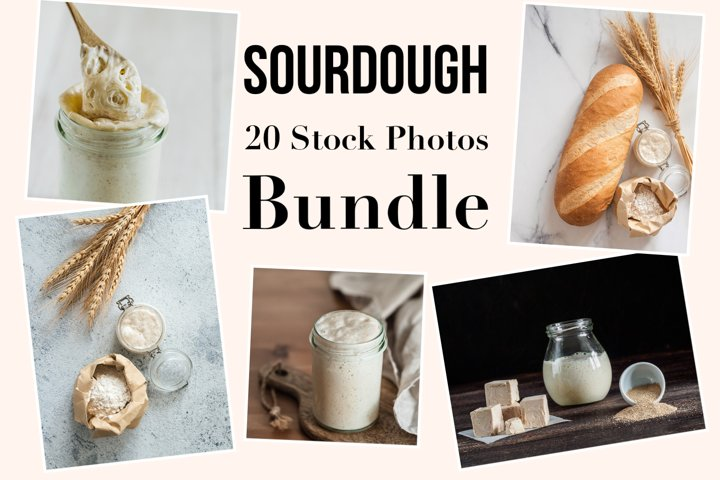 Sourdough - 20 Stock Photos Bundle
