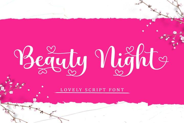 Beauty Night Script