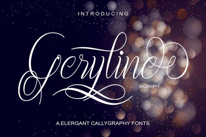 Geryline Script