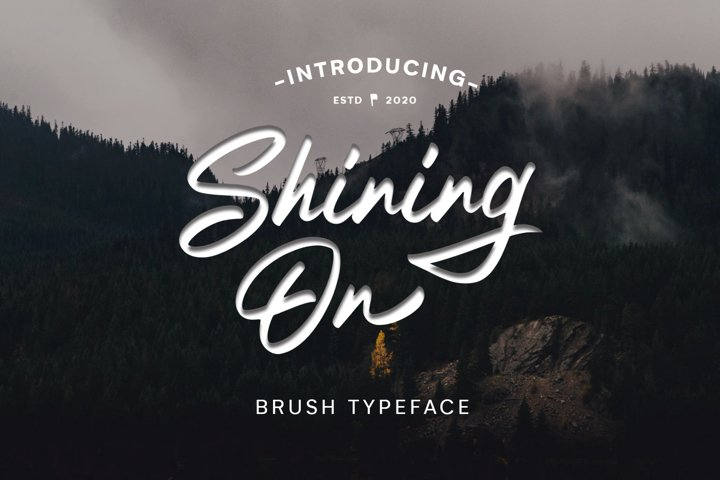 Shining On Logo Type