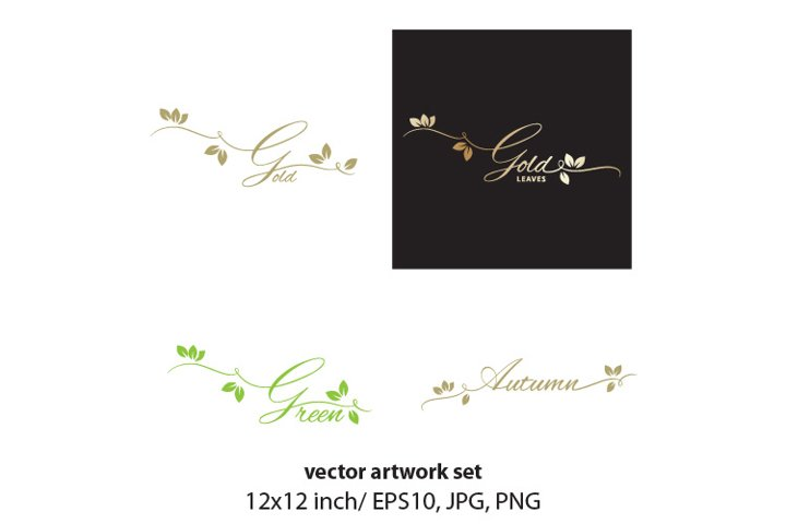 LEAVES - vector set