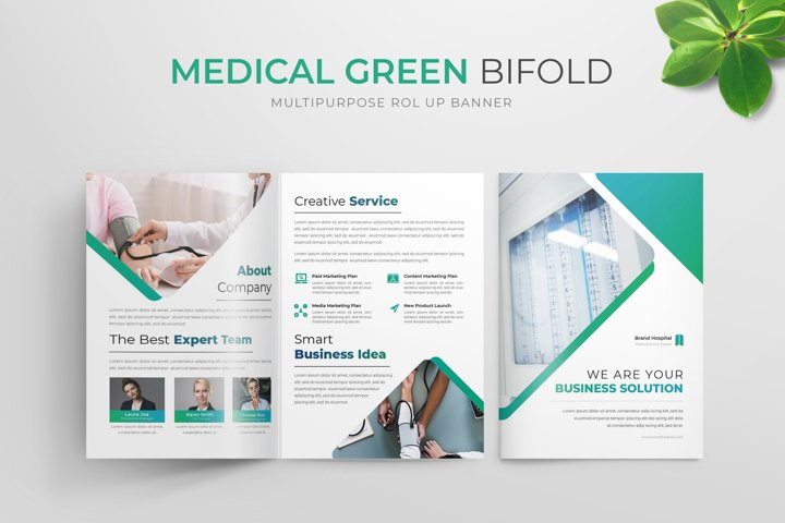 Medical Green | Bifold Brochure