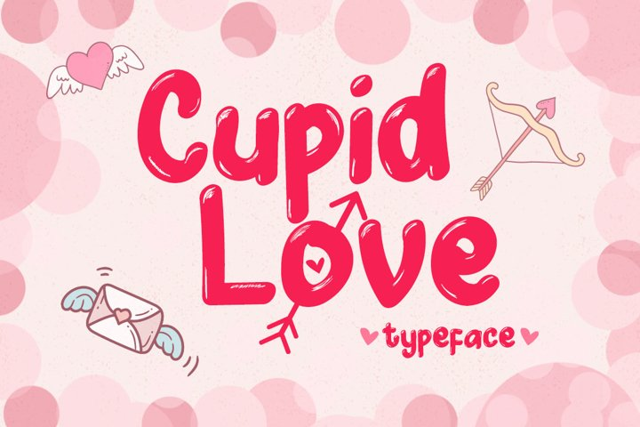 Cupid Love - A Lovely Typeface
