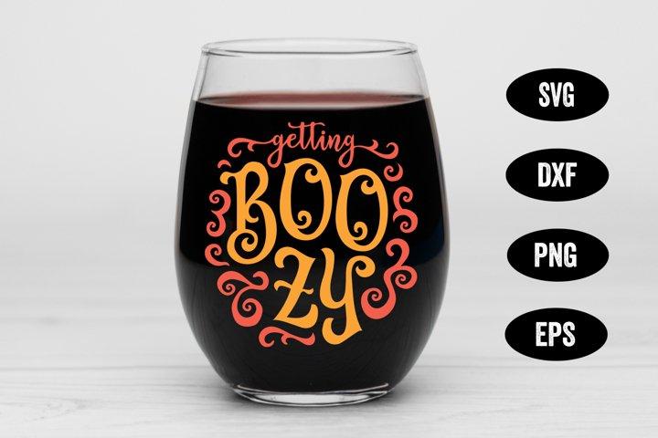 Halloween SVG, Boozy SVG, Ghost SVG, Halloween Drinking SVG