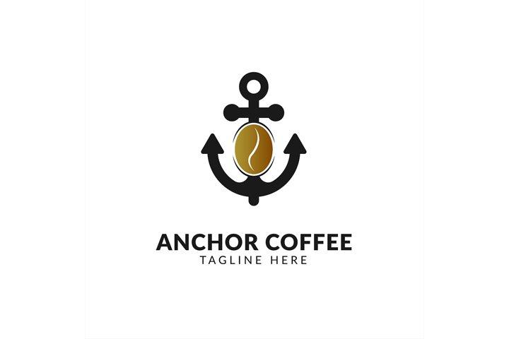 Awesome logo icon Sea Coffee creative design