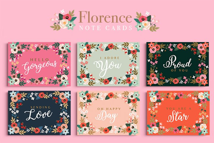 Florence Note Cards