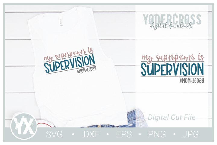 My Superpower is Supervision SVG example