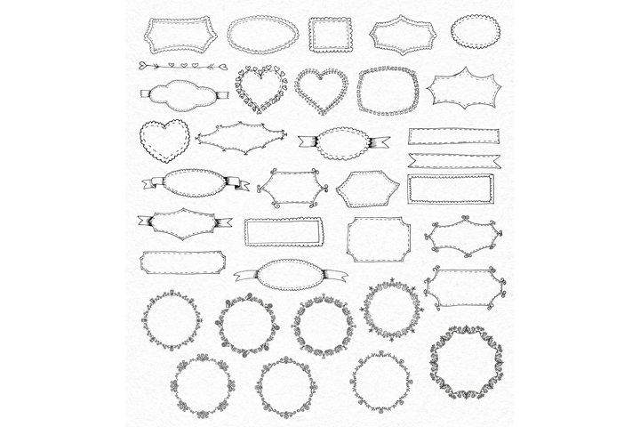 Vintage Vector Elements Set - Free Design of The Week Design0