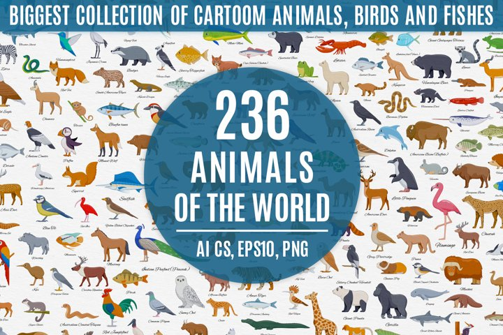 Animals of the World Big Bundle
