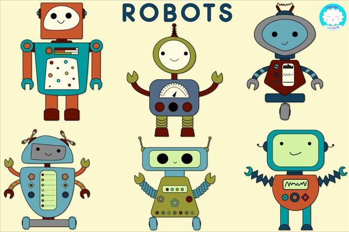 Robot Graphics--Pre-made or Build Your Own